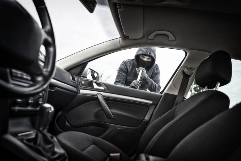 Stolen car insurance